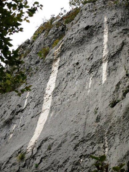 Vela Draga Croatia non-stainless hardware rock discoloration