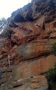 Rock Climbing Photo: Chalk Less, Climb More
