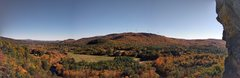 Rock Climbing Photo: The is the view that awaits you in the fall at the...