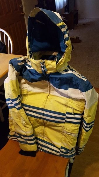 Rock Climbing Photo: Powder Room ski jacket women's medium