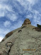 Rock Climbing Photo: Pitch 2 of 3. This part was fun. FYI: the first pi...