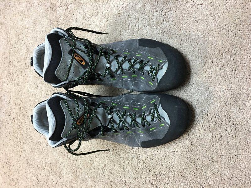 Rock Climbing Photo: Scarpa Tech Ascent GTX Hiking Boots size 13 US (ex...