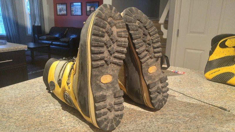 Rock Climbing Photo: Spantik Treads