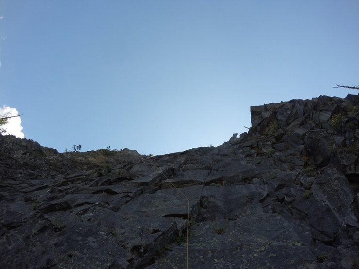 Rock Climbing Photo: Looking from the base up.