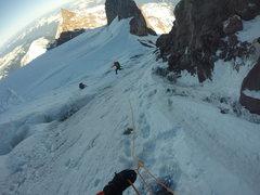 Rock Climbing Photo: Crevasse leaping