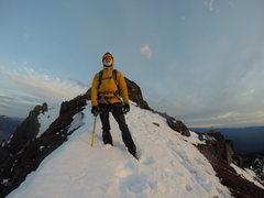 Rock Climbing Photo: Alex on Washington