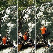 Rock Climbing Photo: Climbing through the bottom of Dish Network