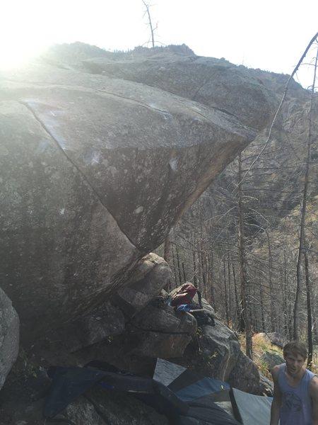 Rock Climbing Photo: New landing!