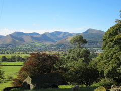 Rock Climbing Photo: View from Applethwaite Village