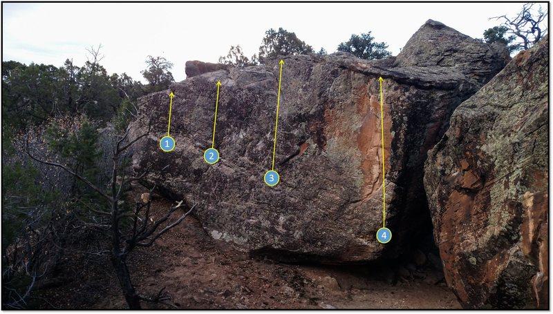 Rock Climbing Photo: 1. Falling For Fall.