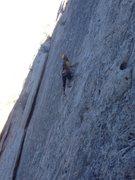 Rock Climbing Photo: Allister on Velcro