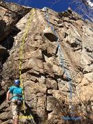 Rock Climbing Photo: Left side of Homestake Crag.