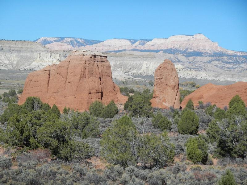 Rock Climbing Photo: Great setting!