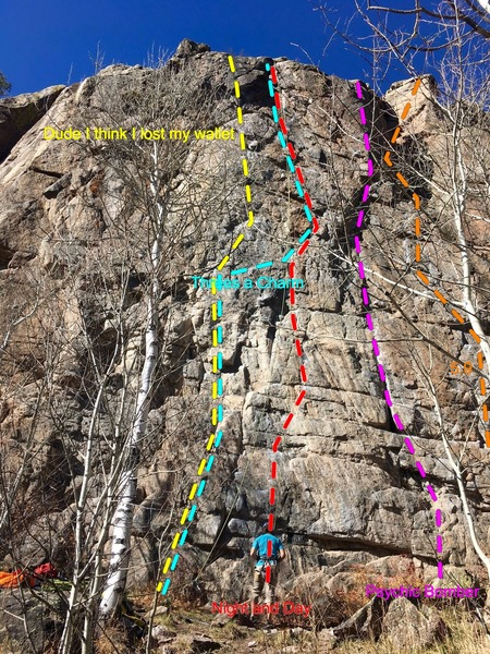 Central Homestake Crag.