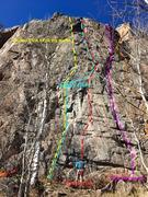 Rock Climbing Photo: Central Homestake Crag.
