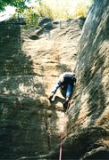 Rock Climbing Photo: Found this photo of me having fun on Slippery when...