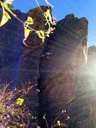 Rock Climbing Photo: Hugh on V3.