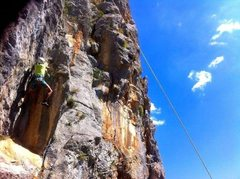 Rock Climbing Photo: Energy. Climbing for dummies!