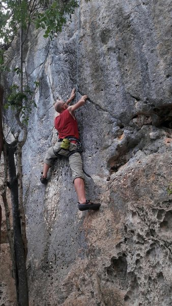 Rock Climbing Photo: Gerben Tomassen on Naile'