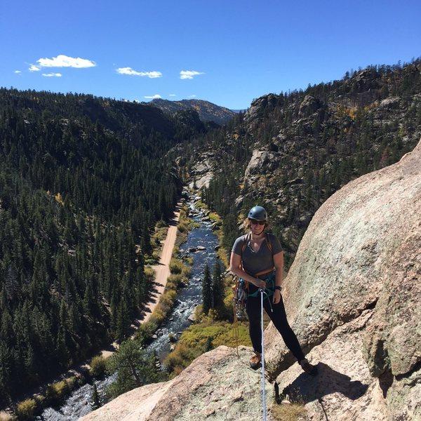 Rock Climbing Photo: Eleven Mile Canyon