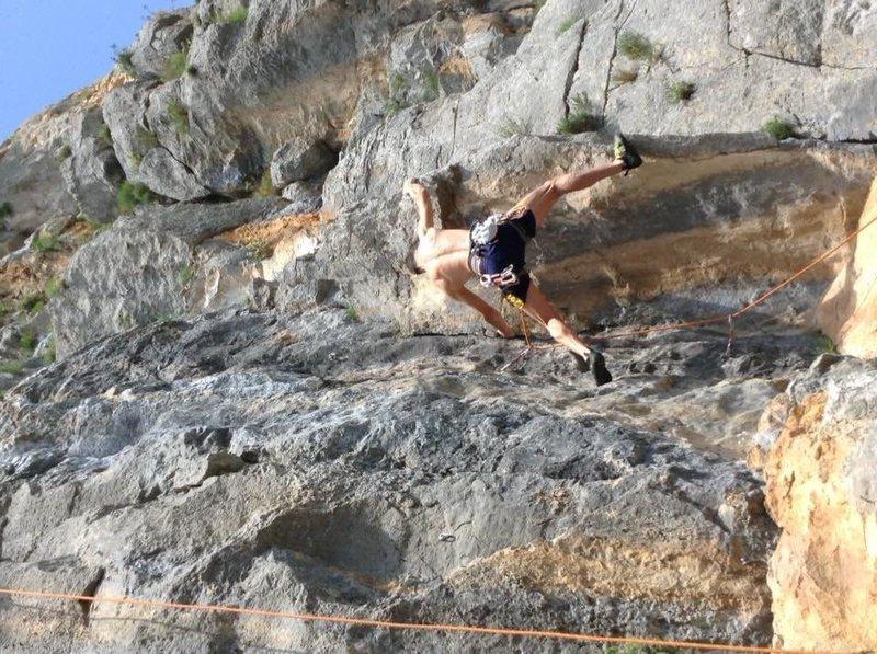 Rock Climbing Photo: Starting dihedral