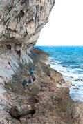 Rock Climbing Photo: The Wave Wall, Cayman Brac