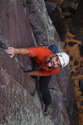 Rock Climbing Photo: Having some fun on Congrats!  Photo by Kyle Colbur...