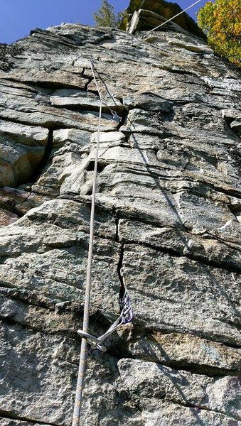 Good look at Zig Zag Man from the ledge.
