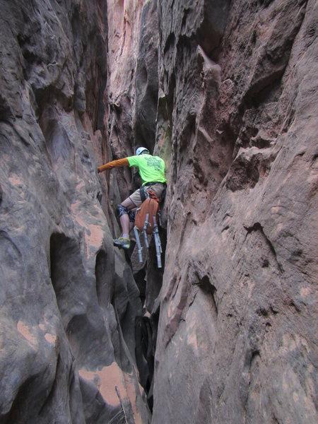 Rock Climbing Photo: High steming