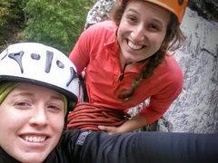 Rock Climbing Photo: Top of Golden Earring