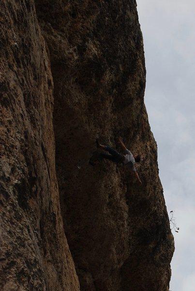 Rock Climbing Photo: YeeHaw!