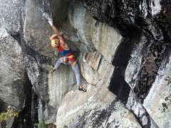 Rock Climbing Photo: Kurt Hager is a super strong giant and so this mak...