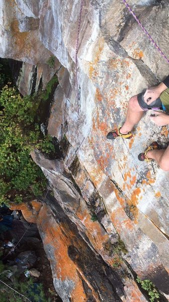 Rock Climbing Photo: Sometimes I go here to read and to reflect.  Photo...