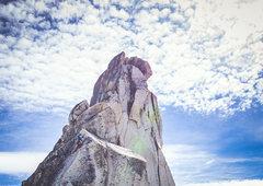 Rock Climbing Photo: Easy crux