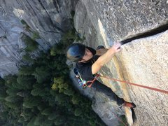 Rock Climbing Photo: One of the sickest splitters out there. Photo by B...