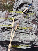 Rock Climbing Photo: Moldy Anchor - photo by Andy P.
