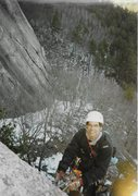 Rock Climbing Photo: Late Winter Aid : with Peter Anania