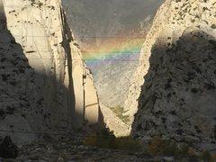 Rock Climbing Photo: Gold!