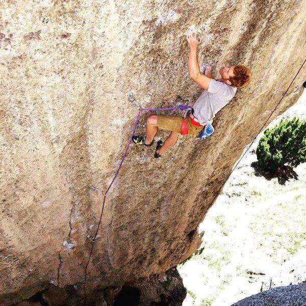 Climber: Ben Crawford<br> Photo: Mike Burdon
