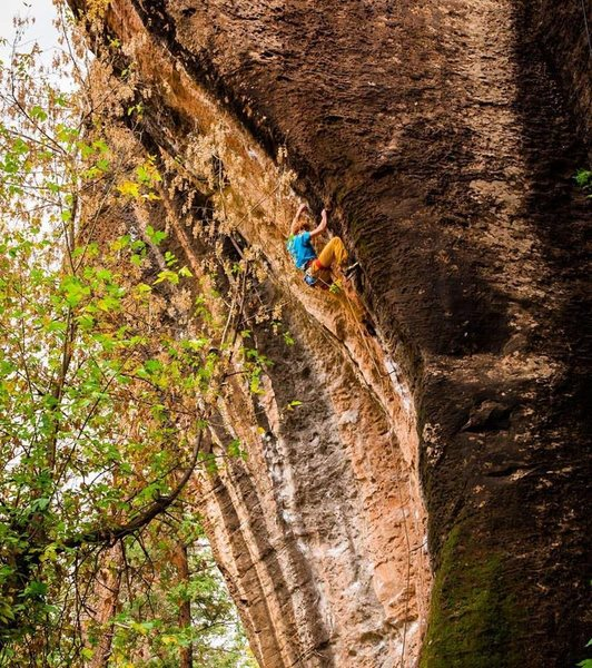 Climber: Ben Crawford<br> Photo: Max Owens