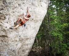 Rock Climbing Photo: Climber: Ben Crawford Photo: Max Owens