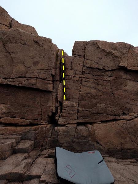 Rock Climbing Photo: Teacher's Pet