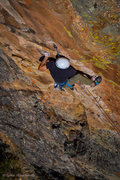 Rock Climbing Photo: Move to the crimp.