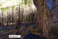 Rock Climbing Photo: *