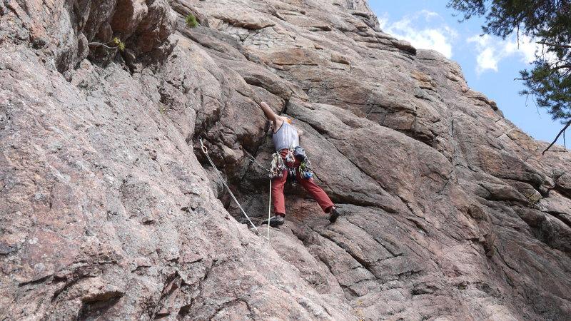 Rock Climbing Photo: Tyson.