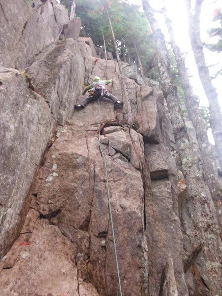 Rock Climbing Photo: Mike D. sewin' it up.