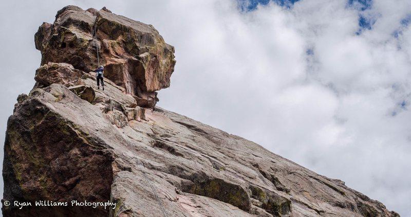 Rock Climbing Photo: A fun rap!