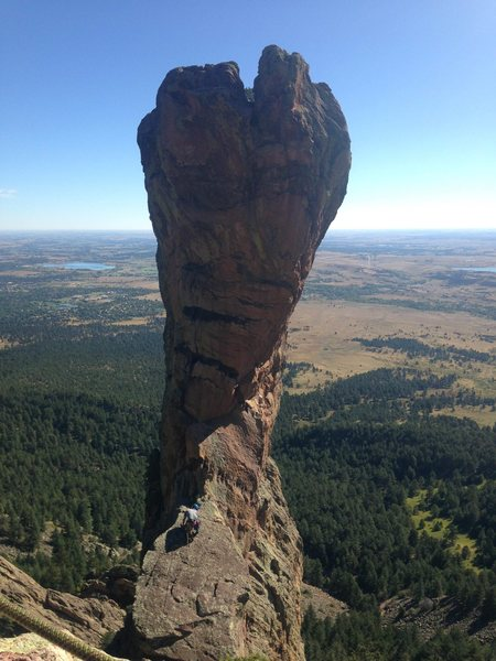 Rock Climbing Photo: The Cobra!!! Super fun start.