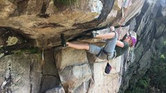 Rock Climbing Photo: Sheila Novak Hager channeling the sound of Bob get...