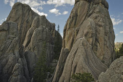 climbers on retable route and rockin&#39; harder. <br />photo Jeremy Susskind